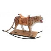 Leopard mit Sattel Schaukel