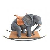 Elefant mit Sattel Schaukel