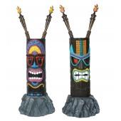 Tiki Maske auf Stein 2