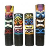 Tiki Masken (4 Stück)