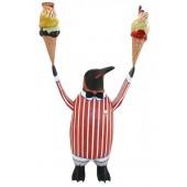 Pinguin mit 2 Eis