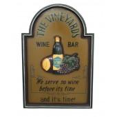 Wein Schild