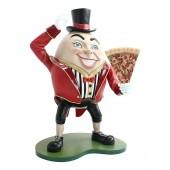 Humpty Dumpty Hut auf mit Pizza