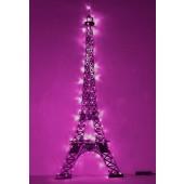Eiffelturm mittel mit Lichtern