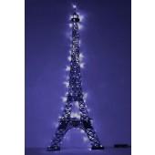 Eiffelturm groß mit Lichtern