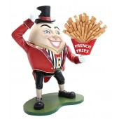 Humpty Dumpty Hut auf mit Pommes