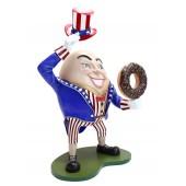 Humpty Dumpty Amerika Hut ab mit Donut