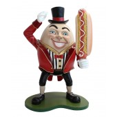 Humpty Dumpty Hut auf mit Hotdog