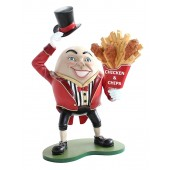 Humpty Dumpty Hut ab mit Hähnchen und Pommes