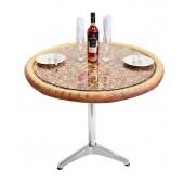 Pizzatisch auf Metallständer
