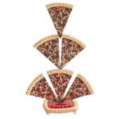 Pizzastücke 6 Einseitig