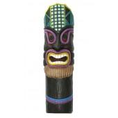 Lila Tiki Maske für Wand