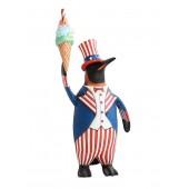 Pinguin Amerika mit Eis