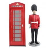 Telefonzelle und Wächter
