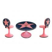 Hall of Fame Hollywood Tisch und Stühle