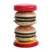 2 Burger Hocker
