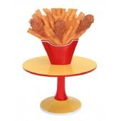 Hühnchen und Pommes Tisch klein