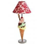 Eis mit Röhrchen Lampe