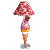 Eis mit Waffel Lampe
