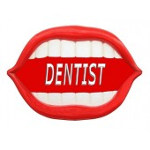 Mund *Dentist* rot