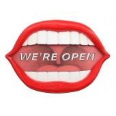 Mund *We are Open*