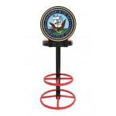 US Marine Corps Navy Barhocker