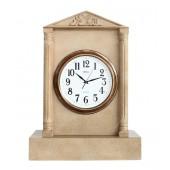 Uhr in Säule mit Graniteffekt