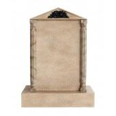 Grabstein mit Sandsteineffekt 6