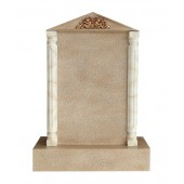 Grabstein mit Sandsteineffekt 11
