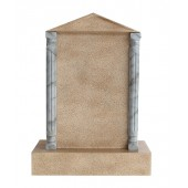 Grabstein mit Sandsteineffekt 14