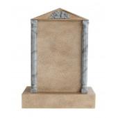 Grabstein mit Sandsteineffekt 15