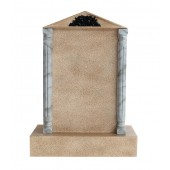 Grabstein mit Sandsteineffekt 16