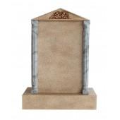 Grabstein mit Sandsteineffekt 17