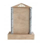Grabstein mit Sandsteineffekt 18