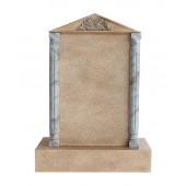 Grabstein mit Sandsteineffekt 19