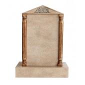 Grabstein mit Sandsteineffekt 25