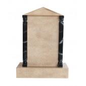 Grabstein mit Sandsteineffekt 26