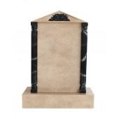 Grabstein mit Sandsteineffekt 30