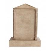 Grabstein mit Sandsteineffekt 32