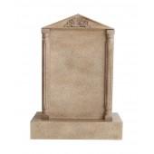 Grabstein mit Sandsteineffekt 36