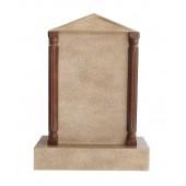Grabstein mit Sandsteineffekt 38