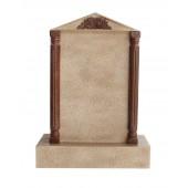 Grabstein mit Sandsteineffekt 39