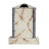Grabstein mit weißem Marmoreffekt 12