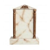 Grabstein mit weißem Marmoreffekt 23