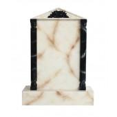 Grabstein mit weißem Marmoreffekt 26