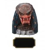 Alien Predator Büste mit Angebotsschild