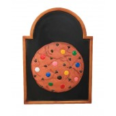 Keks auf Angebotstafel