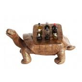 Schildkröte Gold Flaschenhalterung