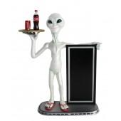 Alien Butler und Angebotstafel 1