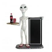 Alien Butler und Angebotstafel 2